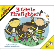 3 Little Firefighters - Paperback