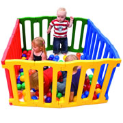 Magic Panel Playpen