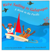 We're Sailing to the Galapagos - Hardback