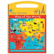 Map of the World Play Scene