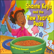 Shante Keys & The New Years Peas - Hardback