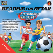 Reading for Detail - Championship Soccer (Red Level: 2.0 - 3.5)