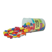 Plastic Pattern Block Set