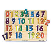 Numbers Sound Puzzle (21 Pieces)