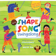 The Shape Song Swingalong - Hardcover with CD