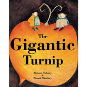 The Gigantic Turnip - Hardcover with CD