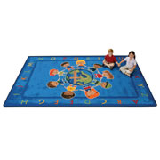 All God's Children Circletime Rug