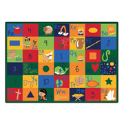 Bible Blocks Learning Rug