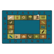 Bilingual Circletime Rug - Nature