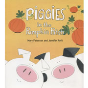 Piggies in the Pumkin Patch - Paperback