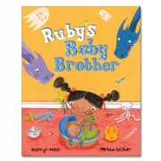 Ruby's Baby Brother - Hardback
