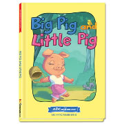 Big Pig and Little Pig - Hardcover book from ABCmouse.com