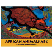 African Aniamls ABC - Paperback