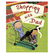 Shopping With Dad - Paperback