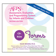 AEPS® (2nd Edition) Forms CD-ROM Set (English Version)