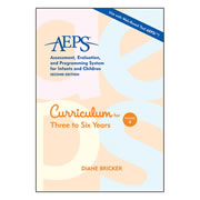 AEPS® (2nd Edition) Volume 4: Curriculum for Three to Six Years
