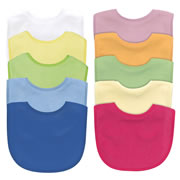 Basic Terry Bib 5-Pack Set