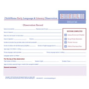 Child/Home Early Language and Literacy Observation Tool (CHELLO)