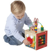 Hape Discovery Box Play Cube