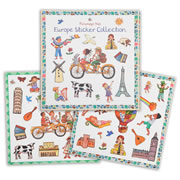 Europe Sticker Book Collection