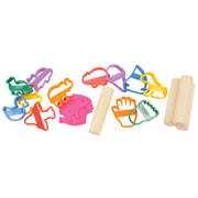 Toddler Clay Cutter Set