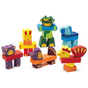 Farm Animals Stacking Blocks