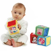 Soft Colorful Baby Blocks