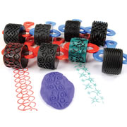 Jumbo Paint and Clay Explorer Rollers (Set of 6)