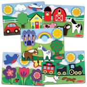 Scenes Chunky Puzzle Set (Set of 5)