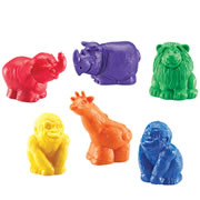 Jumbo Safari Counters (Set of 30)