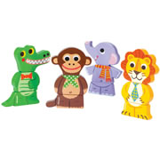 Magnetic Stacking Jungle Animals (Set of 4)