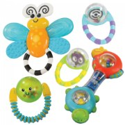 Grasp & Explore Rattle Set (Set of 5)