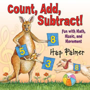 Count, Add, Subtract CD by Hap Palmer