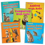 Animal Match Book Set (Set of 5) - Paperback