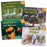 I Can Count Book Set (Set of 4) - Paperback