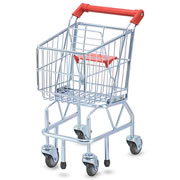 Kid Size Metal Shopping Cart