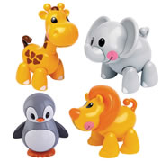 TOLO® Zoo Animals (Set of 4)