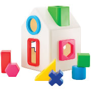 Sort-A-Shape House