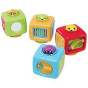 Click 'n Spin Activity Blocks (Set of 4)