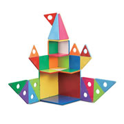 Magna-Tiles® 33 Piece GS Set and Connection Guide