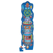 Spaceship Tower Puzzle (36 Pieces)