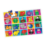 Colors & Shapes Jumbo Floor Puzzle (50 Pieces)