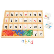 Alphabet Sorting Tray