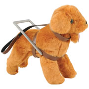 Inclusion Doll Equipment - Cane & Seeing Eye Dog
