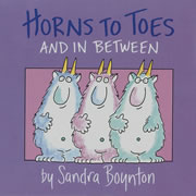 Horns To Toes Board Book