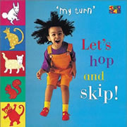 Let's Hop And Skip Board Book