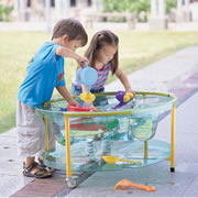 Transparent Sand and Water Table