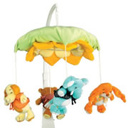 Sleepy Mirror Pals Crib Mobile