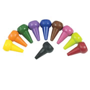 Finger Crayons (Set of 10)