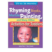 Rhyming Books, Marble Painting, And Many Other Activities For Toddlers